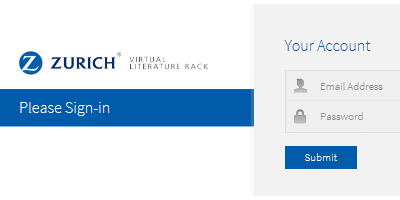 Zurich Virtual Literature Rack